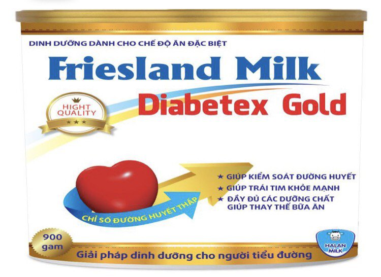 FRIESLAND MILK DIABETEX GOLD 900g