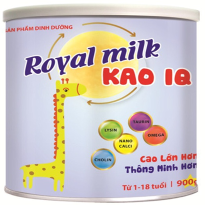 ROYAL MILK KAO IQ 900G