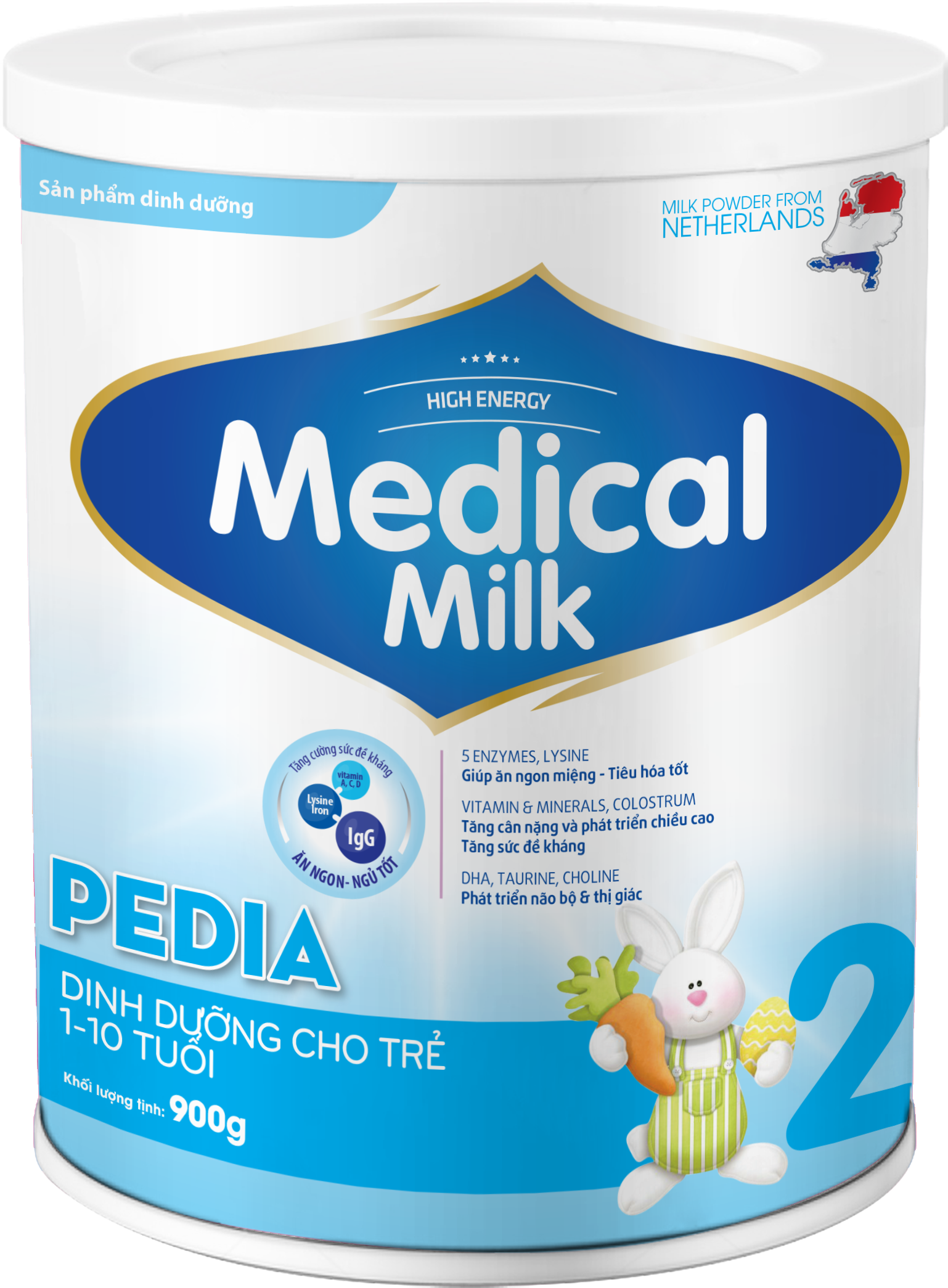 MEDICAL MILK PEDIA 900g