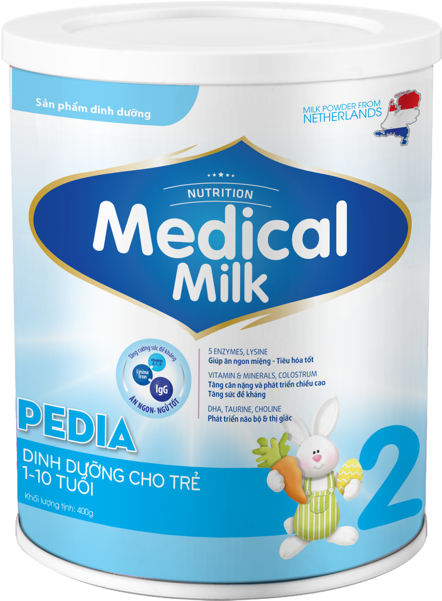 MEDICAL MILK PEDIA 400g