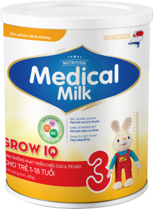 MEDICAL MILK GROW IQ 400g