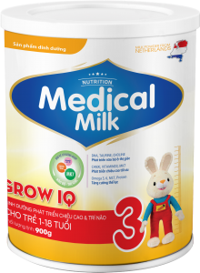 MEDICAL MILK GROW IQ 900g
