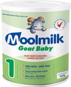 MOOL MILK GOAT BABY 900gr