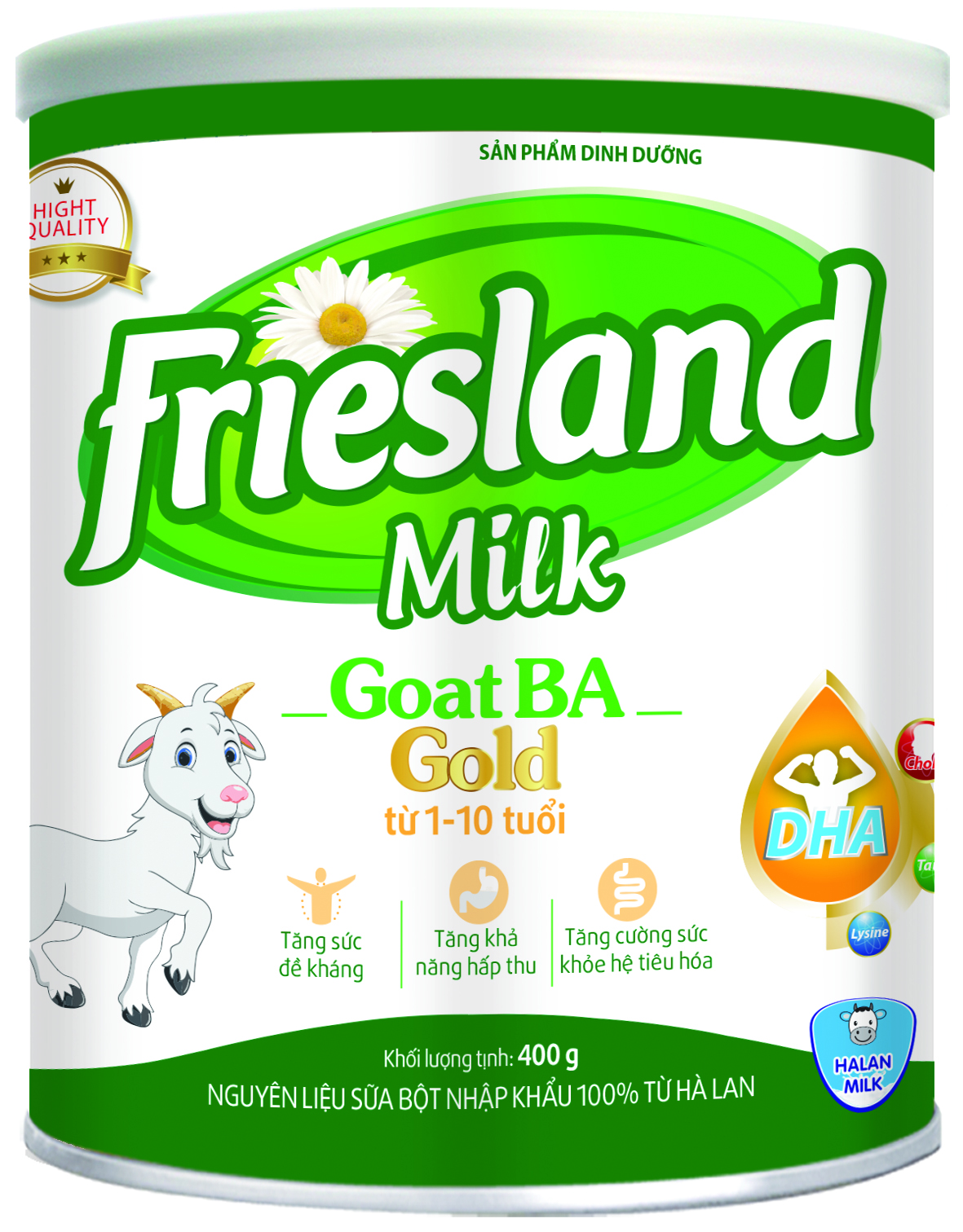 FRIESLAND MILK GOAT BA GOLD 400g