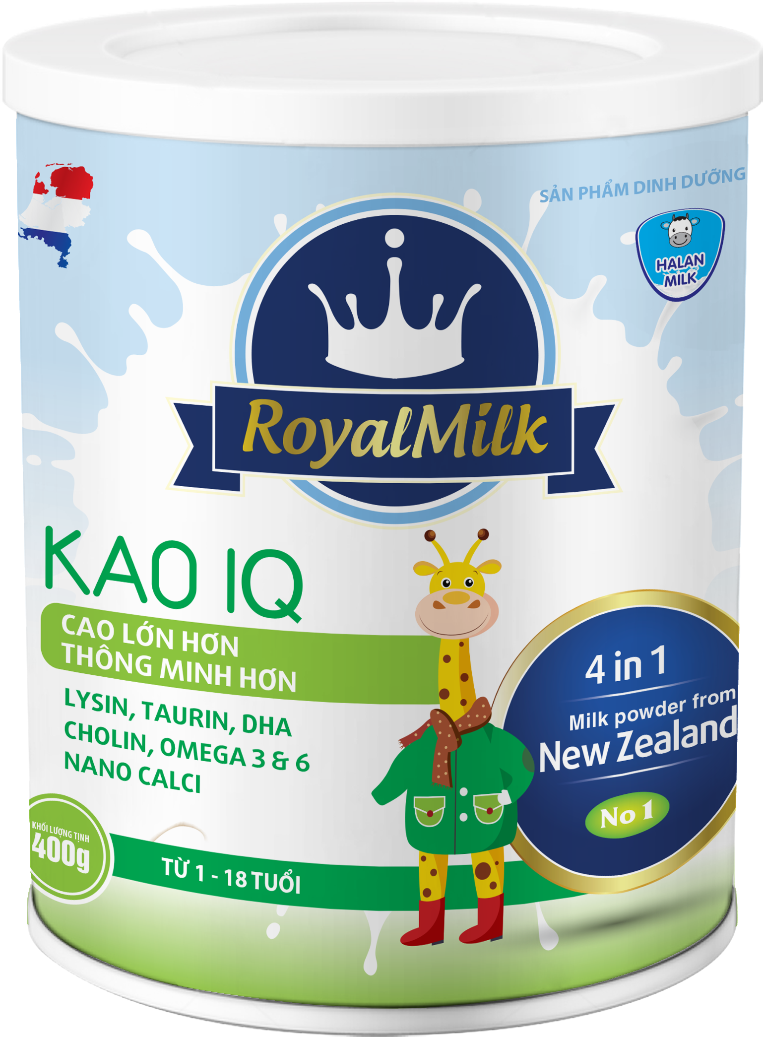 ROYAL MILK KAO IQ 400G