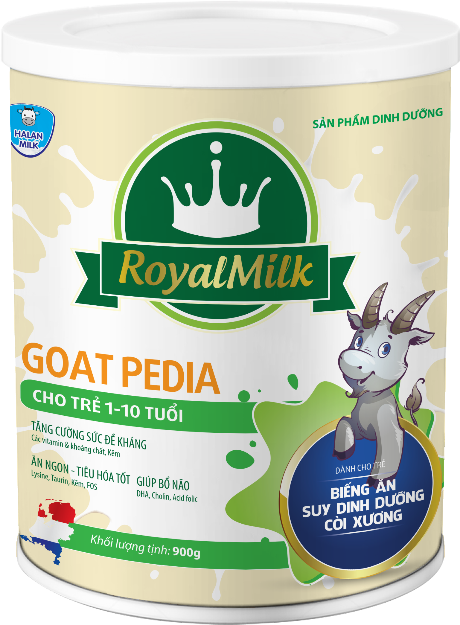 ROYAL MILK GOAT PEDIA 900g