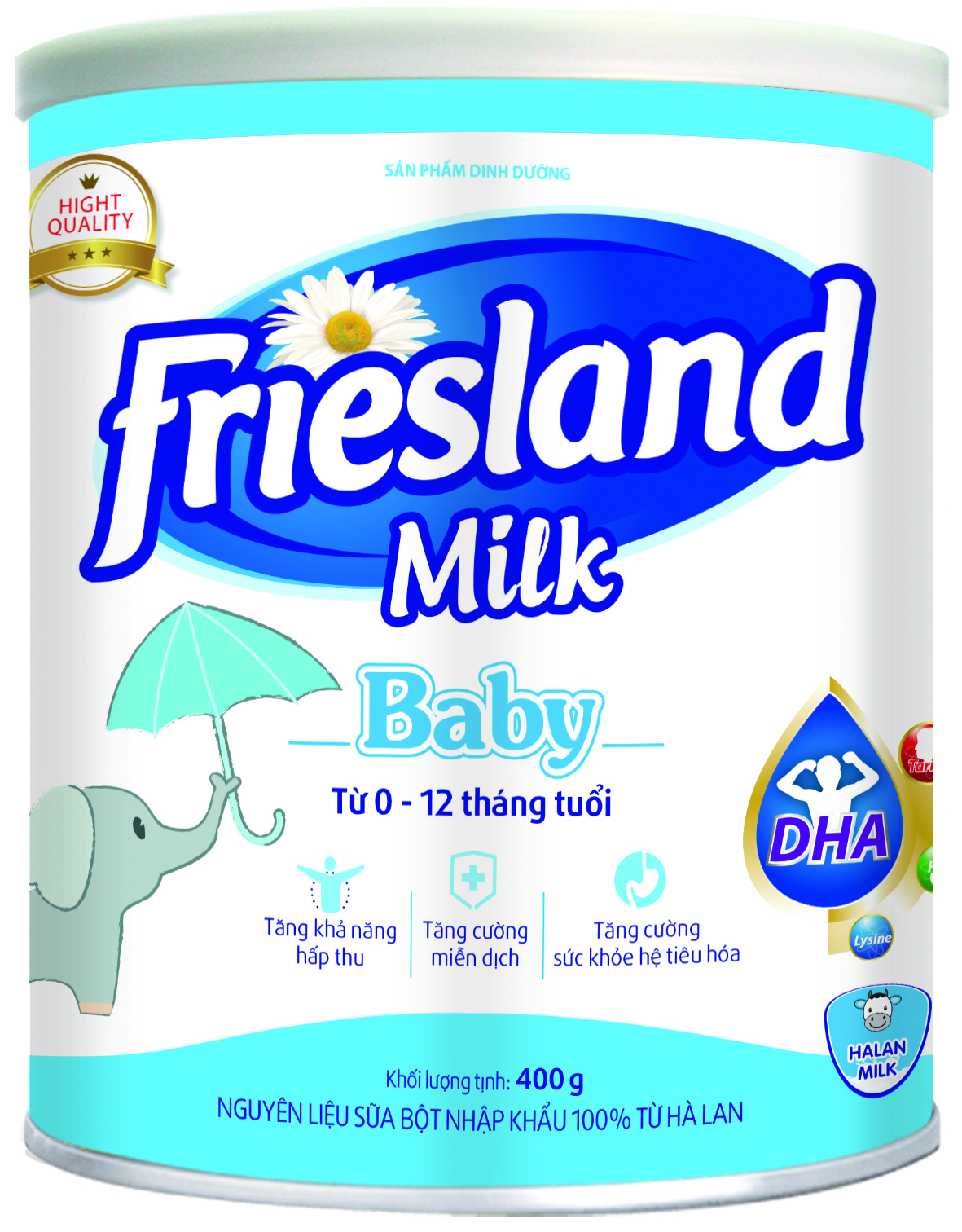 FRIESLAND MILK BABY 400g