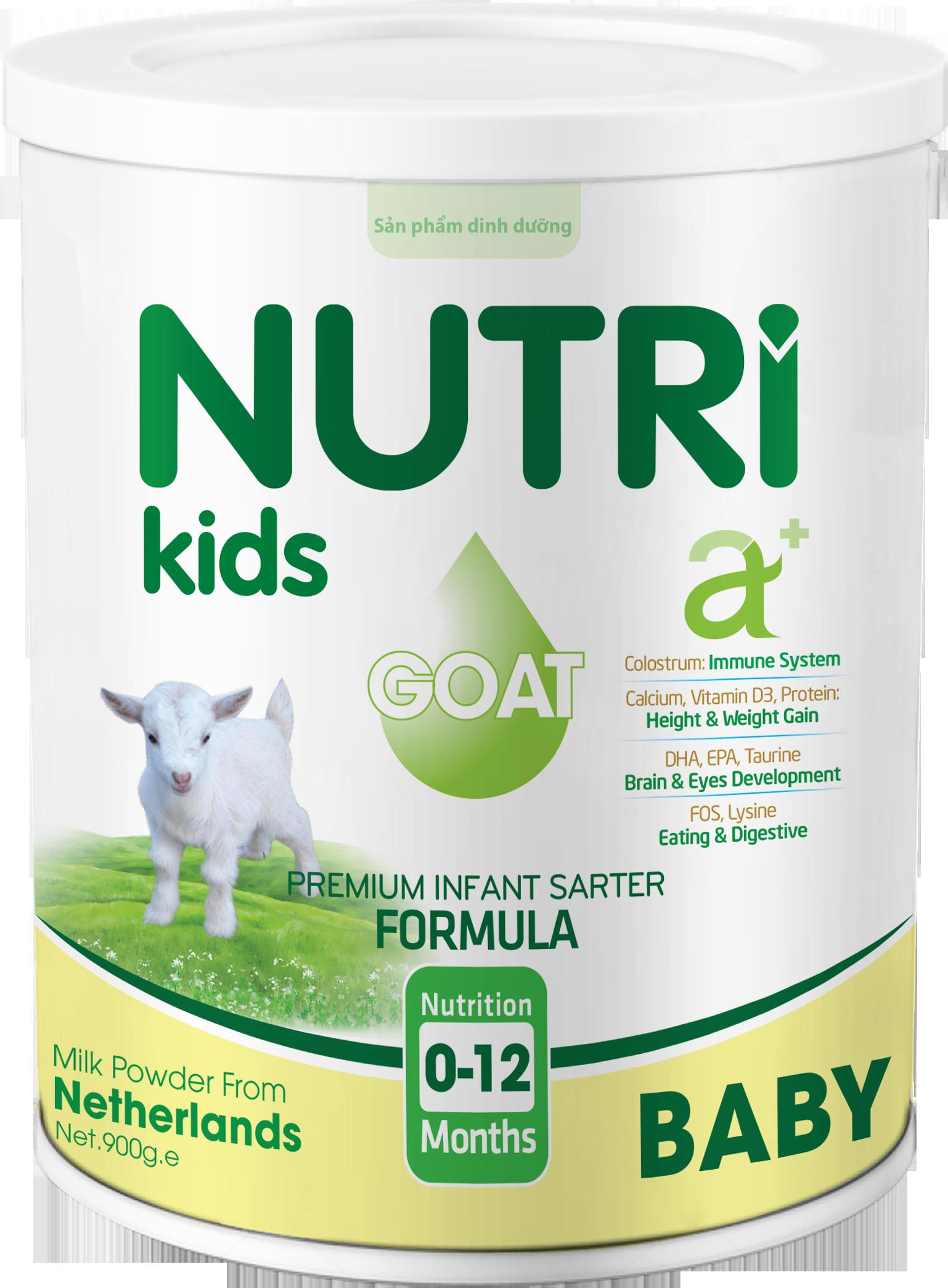 NUTRI KIDS A+ GOAT BABY 900g