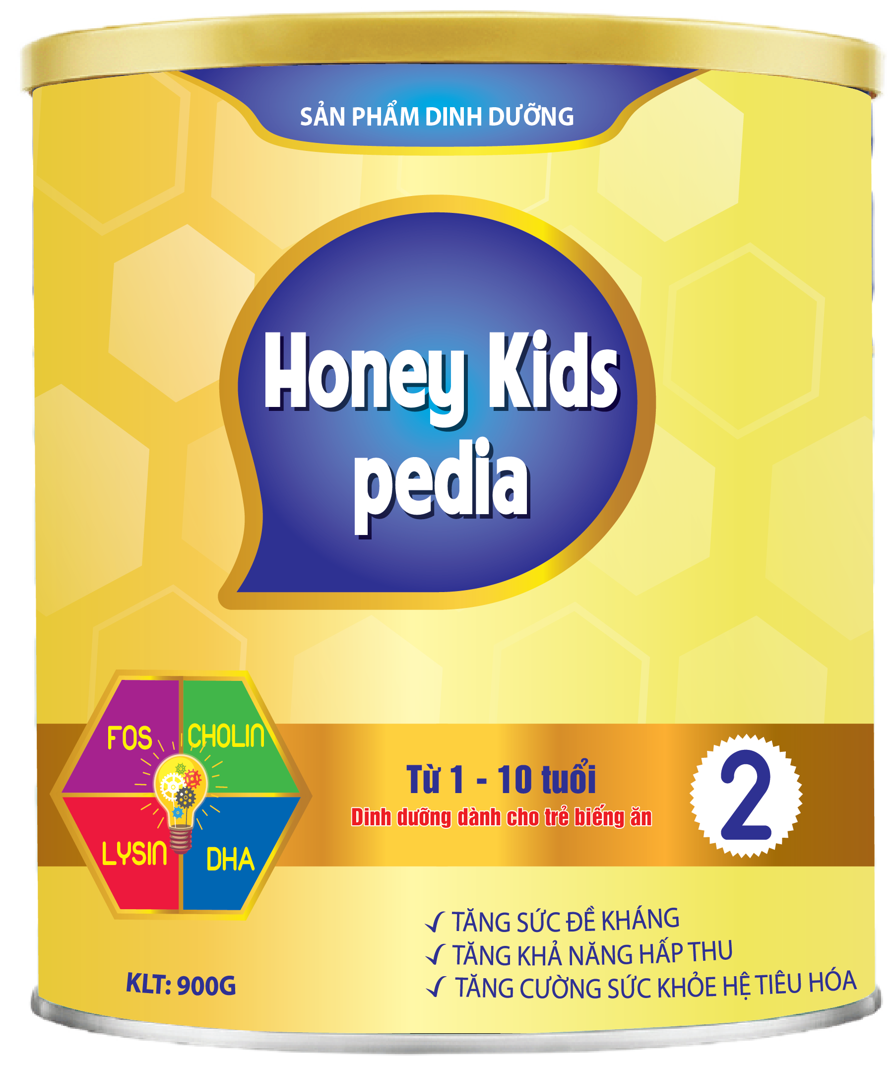 HONEY KIDS PEDIA 900gr
