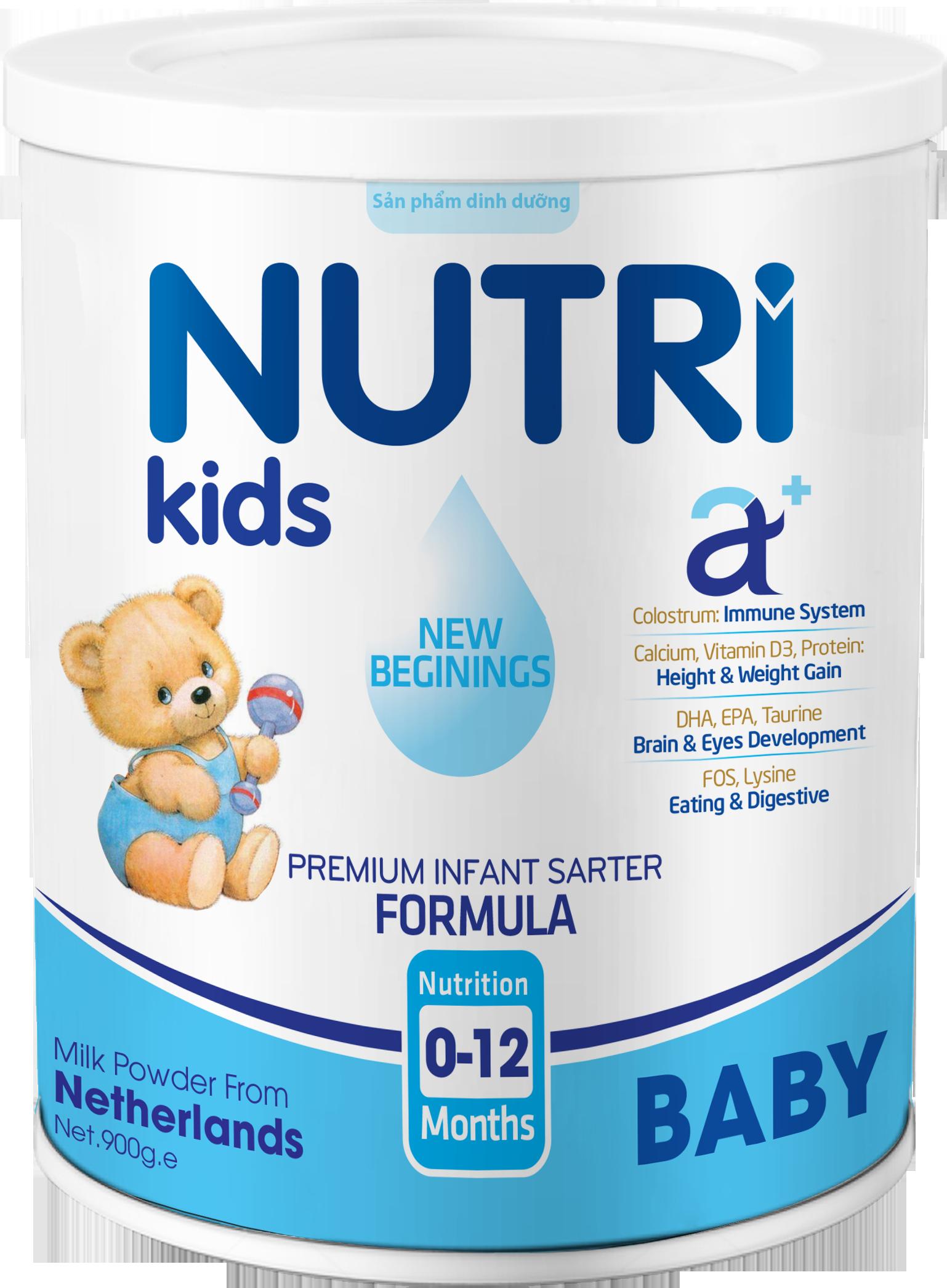NUTRI KIDS A+ BABY 900g