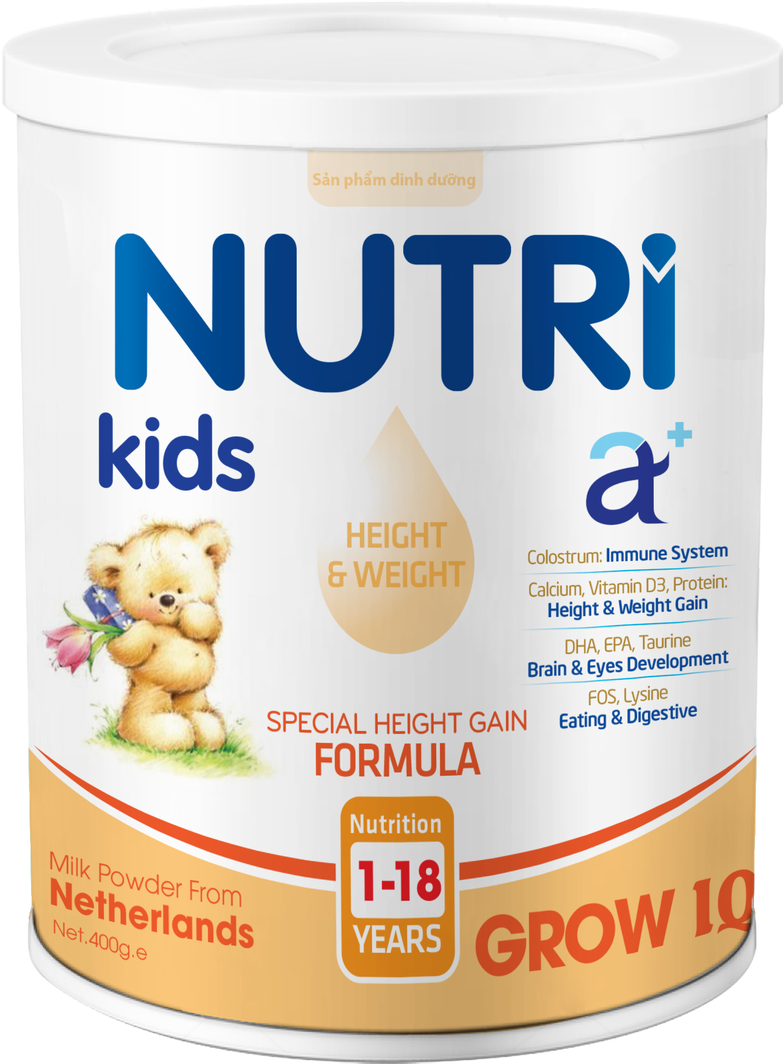NUTRI KIDS A+ GROW IQ 400g