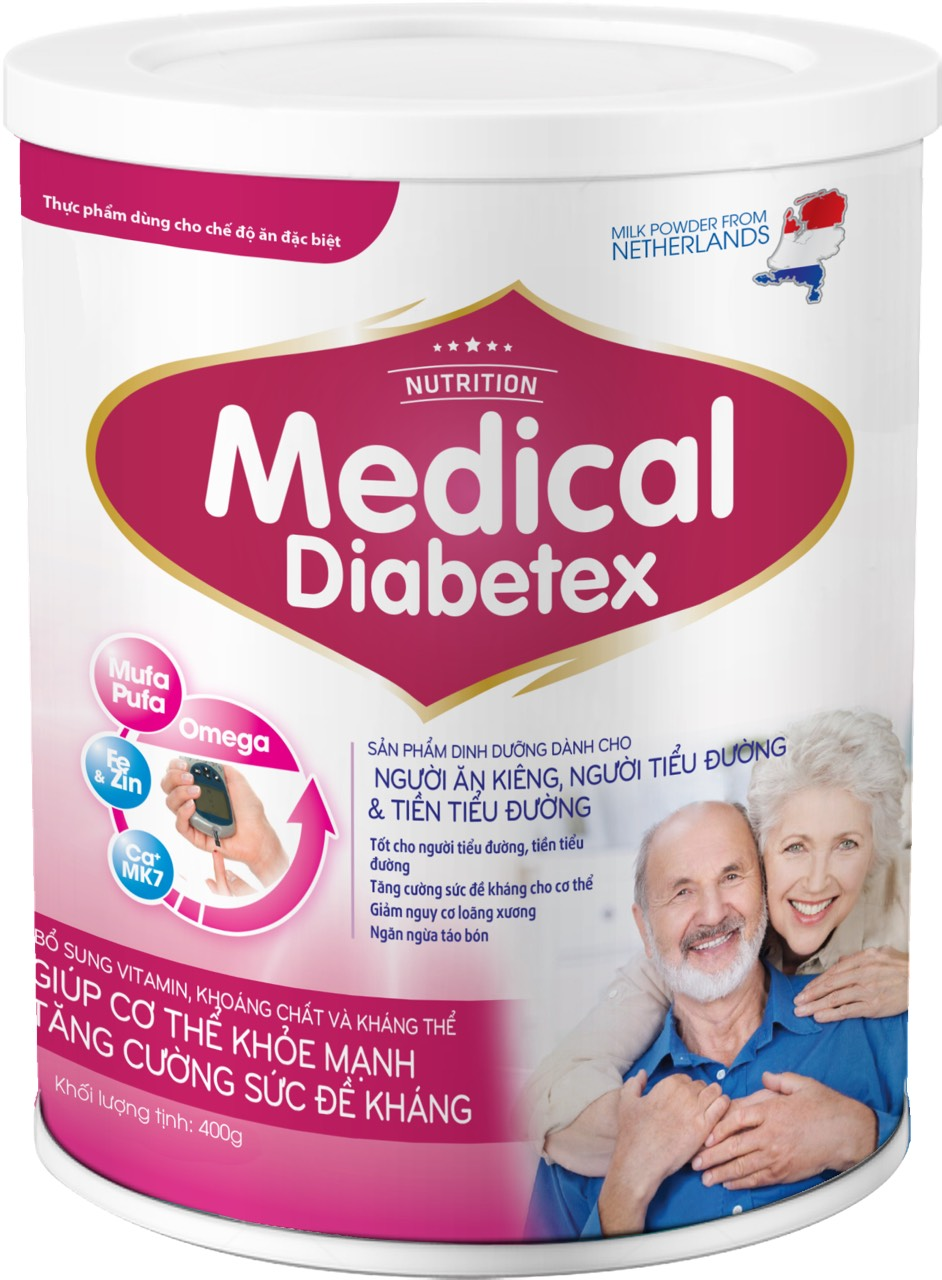 MEDICAL DIABETEX 400gr