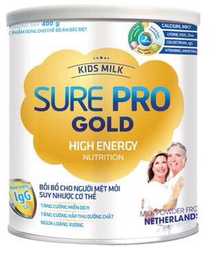 KIDS MILK SURE PRO GOLD 400gr