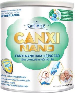 KIDS MILK CANXI NANO 400gr