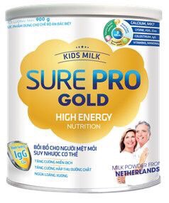 KIDS MILK SURE PRO GOLD 900gr