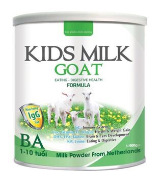 KIDS MILK GOAT BA 900gr