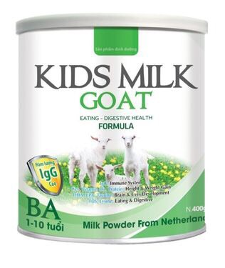 KIDS MILK GOAT BA 400gr