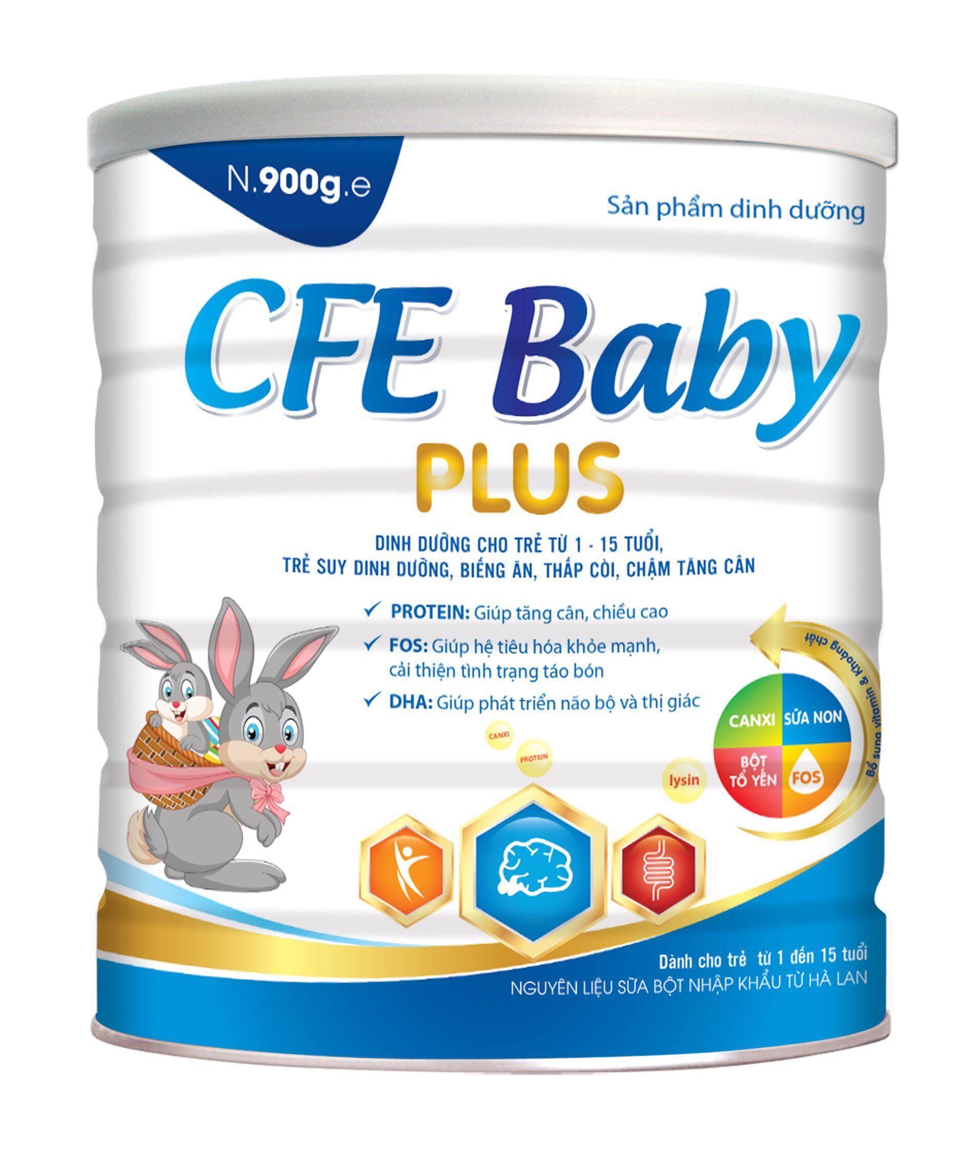 CFE BABY PLUS 900g