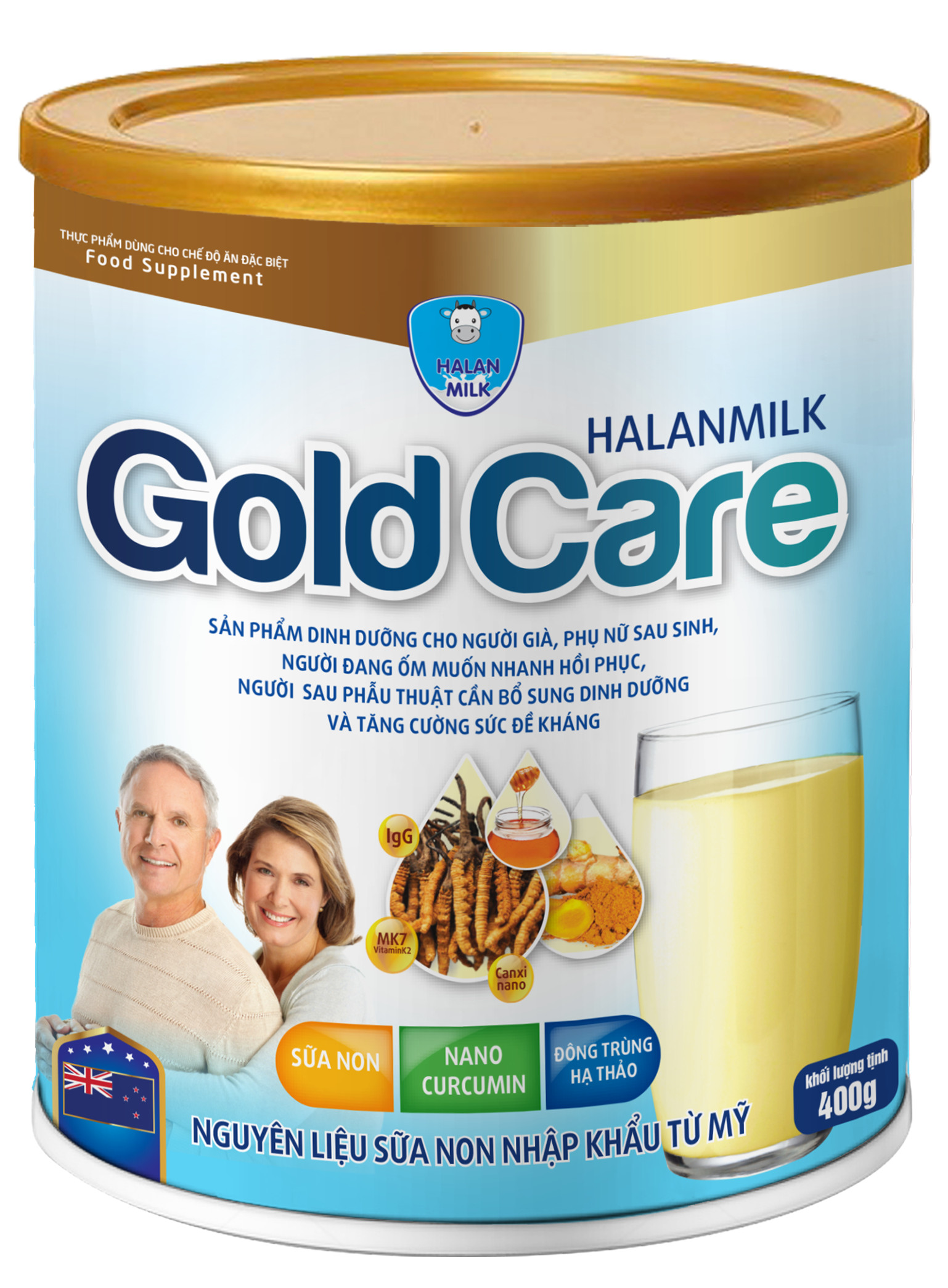 HALANMILK GOLD CARE 400g