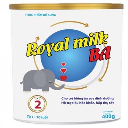 ROYAL MILK BA 400g