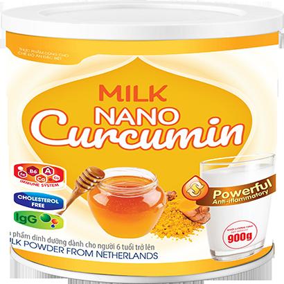 Milk Nano Curcumin 900gr