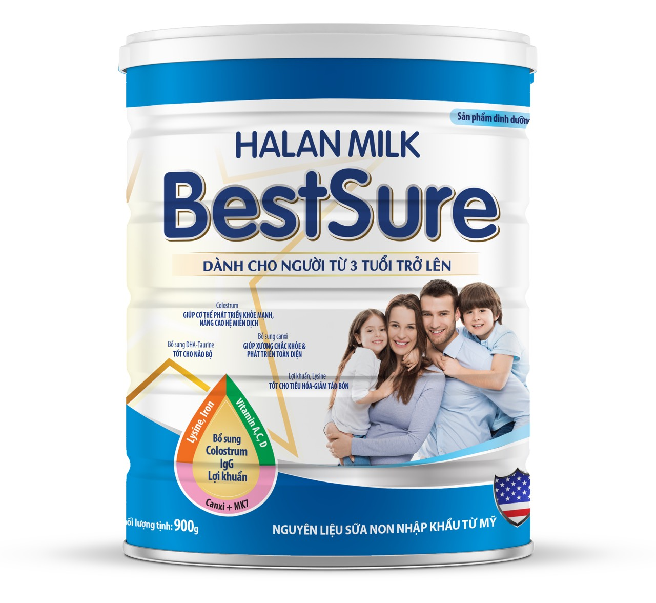 HALAN MILK BEST SURE 900gr