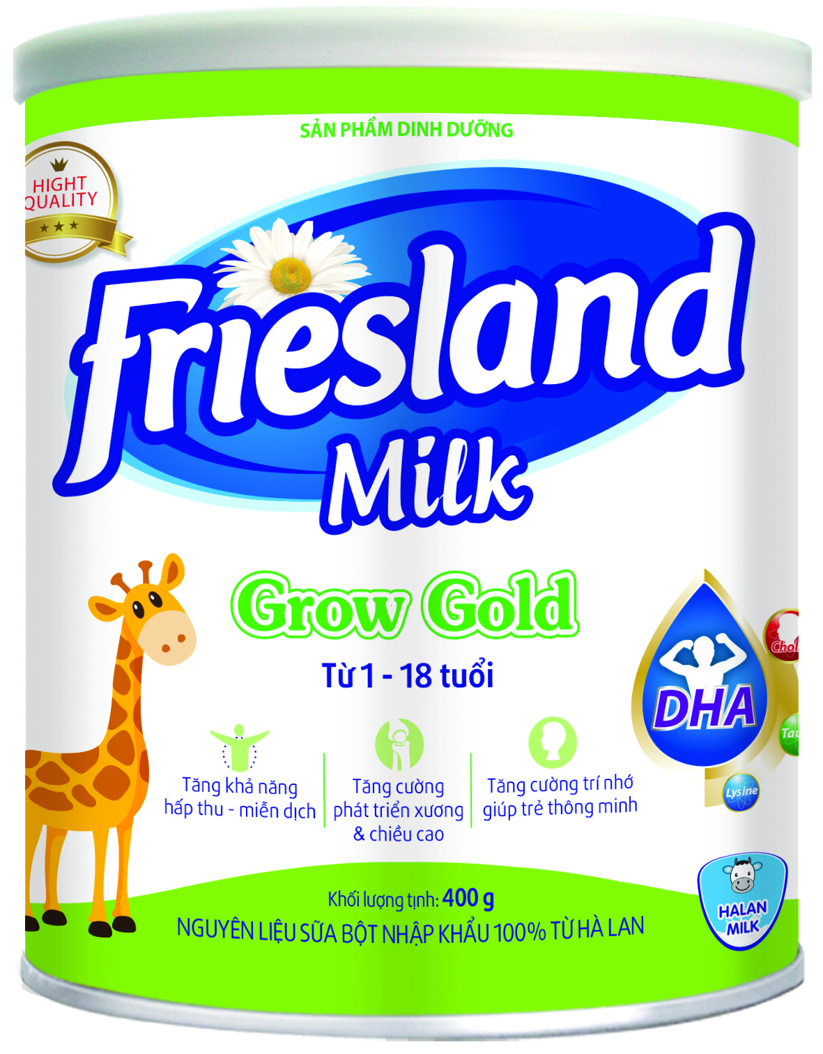 FRIESLAND MILK GROW GOLD 400g