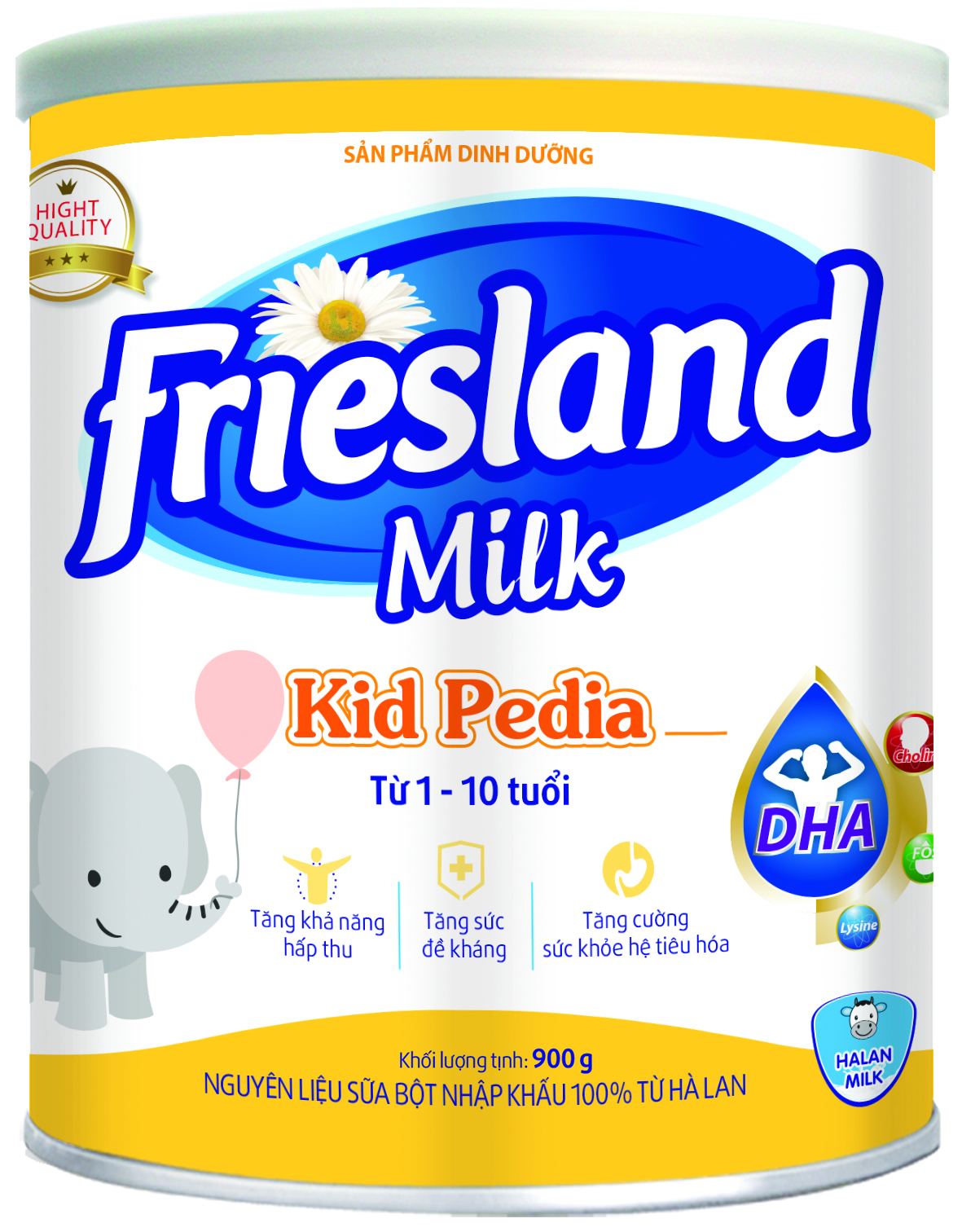 FRIESLAND MILK KIDS PEDIA 900g