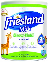 FRIESLAND MILK GROW GOLD 900g