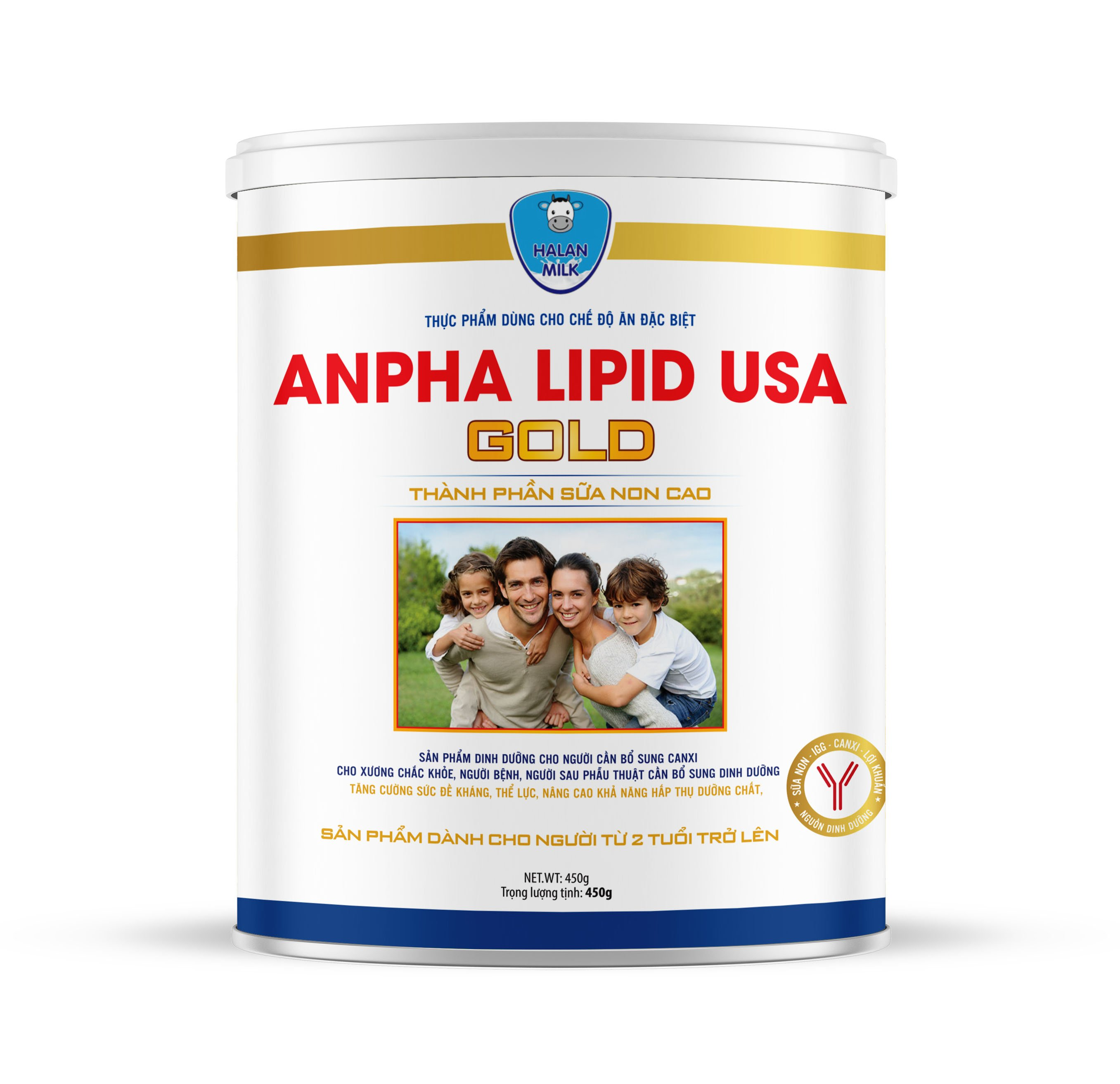 ANPHA LIPID USA GOLD 450g