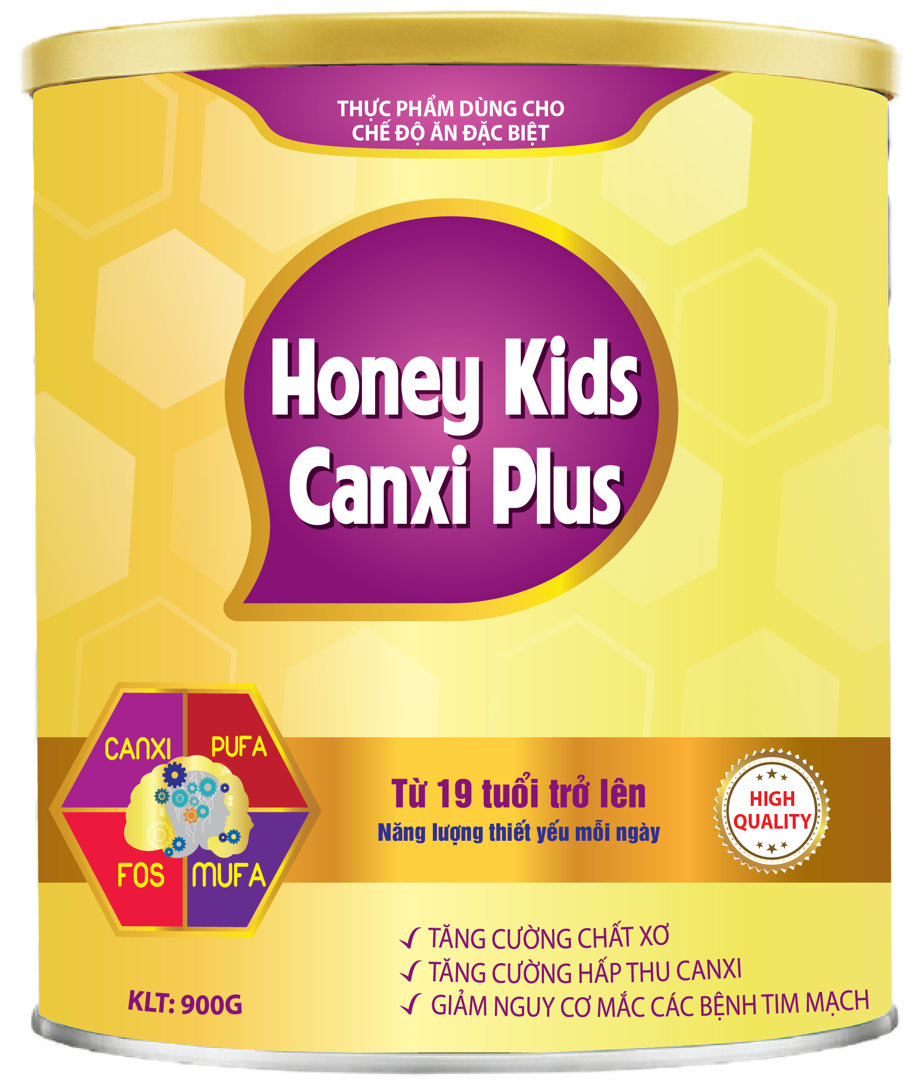 HONEY KIDS CANXI PLUS 900gr