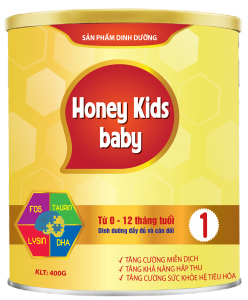 HONEY KIDS BABY 400gr
